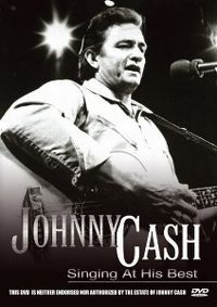 Cover Johnny Cash - Singing At His Best [DVD]